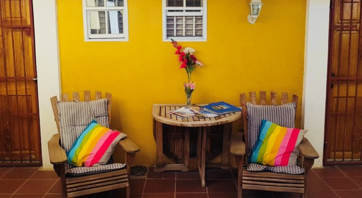 Patio  B&B La Creole Kaminda Salinja 2 Willemstad