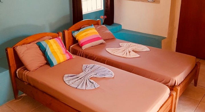 Twin Room  B&B La Creole Kaminda Salinja 2 Willemstad