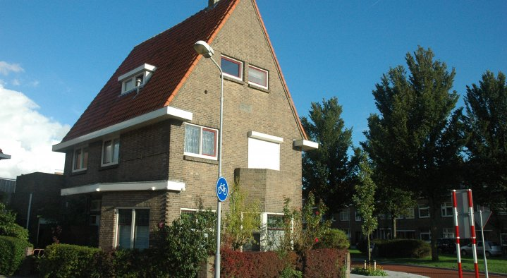 voorkant huis  de Zilte Bries Paul Krugerstraat 224 Flushing